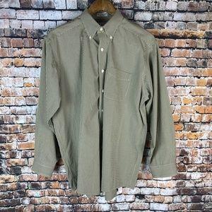 LL.Bean Plaid Long Sleeve Dress Shirt